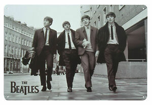 The Beatles LIVE AT THE BBC Metal Wall Sign Steel Plaque Bar Gift (20cm x 30cm)