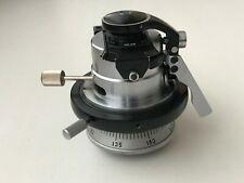Russian Ussr Microscope Min 58 Pol Condenser Lens Optic Part