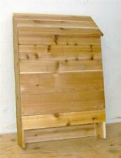 Brand New Huge 5 Chamber Bat House All Cedar With Nursery Ledges
