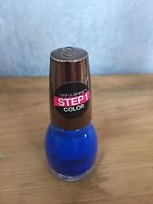 Sinful Shine Nail Polish Gel Tech 4 STEP1 Color MOST SINFUL #1607 Dark Blue