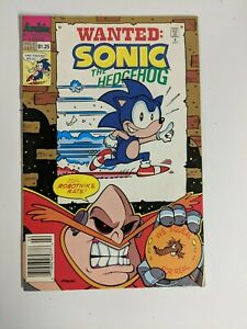 Sonic the Hedgehog Comic #2 September 1993