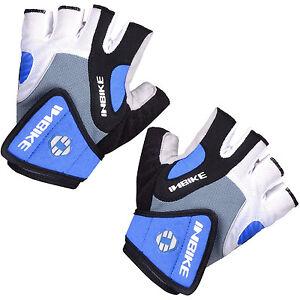 INBIKE Men Cycling Bike Gloves MTBBicycle Gloves GEL Padded Half Finger Gloves