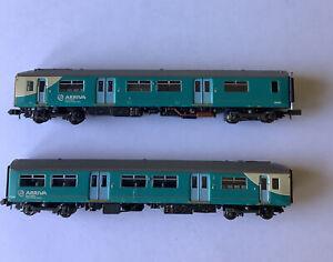 2 x A viva  n gauge coaches
