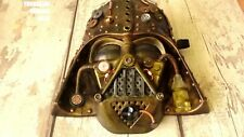 Steampunk Darth Vader cosplay mask with lights!