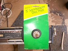 2 Genie 5-Inch Rubber-Face Sand paper Disc Pad Fits Any Electric Drill