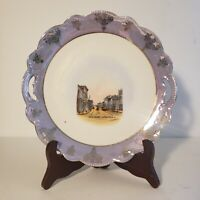Vintage Souvenir Plate Yarmouth Nova Scotia
