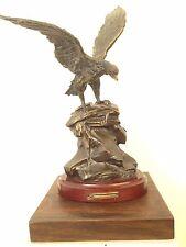 Escultura Águila Bronze Veritable Original