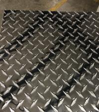 12 X 24 Diamond Plate Aluminum 045 Thick 18 Gauge 3003 Alloy