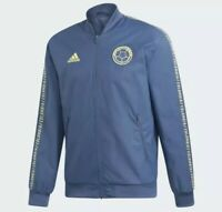 Adidas Colombia Anthem Jacket Mens Size Small Blue Yellow