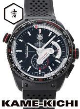 Tag Heuer Grand Carrera Caliber 36RS Chronograph Rubber Black Men's Watch[b1114]