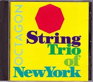 String Trio Of New York - Octagon - CD (120131-2 Black Saint 1994 Italy)