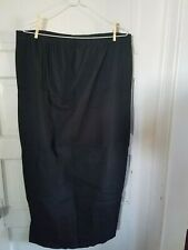 French Laundry XL black maternity skirt.  extra large cotton spandex mid calf