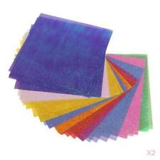 100Sheet Origami Handmade Paper Pearl Double Side Color Shining Papers 10x10