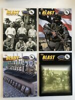 2005 x4 Issues The Blast Journal Of Naval Special Warfare - 2005 No. 1-4