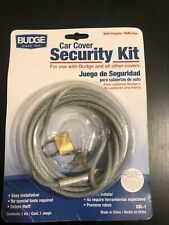 Budge CBL-1 Car Cover Security Kit for use with Budge & all other covers - New
