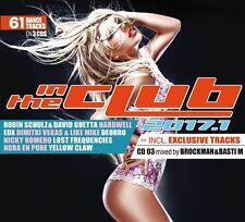 DAVID/SCHULZ,ROBIN/HARDWELL/+ GUETTA - IN THE CLUB 2017.1  3 CD NEU