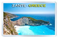 ZANTE GREECE FRIDGE MAGNET SOUVENIR IMAN NEVERA