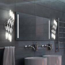 Lot de 2 lampes murales design Miroir de salle de bain éclairant des projecteurs