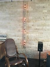 Vintage Wandlampe 2m Beige Auftragsgriller Grill  Grillschürze Lampe Zubehör NEW