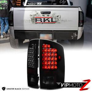For 02-06 Dodge Ram 1500 2500 3500 [SINISTER BLACK SMOKE] LED Brake Tail Light