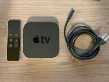 Used Apple TV 4th Generation 32GB 1080p w/ Siri Remote and power cord (A1625)
