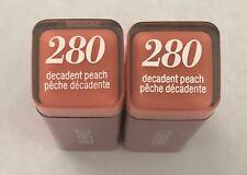 (2) COVERGIRL Colorlicious Rossetto, 280 Decadent Pesca