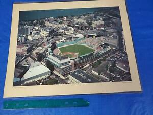 Vintage Fenway Park Poster 16x20 ~ Boston Red Sox ~ MLB ~ No Green Monster Seats