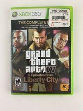 Grand Theft Auto IV -- Complete Edition (Microsoft Xbox 360, 2010) Liberty city