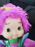 "Hallmark Rainbow Brite Friend STORMY Purple Hair Plush Doll 18"""
