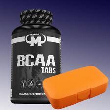 (8,62�'�/100g)  Mammut BCAA Tabs 180 Tabletten Aminosäuren + Pillenbox Orange
