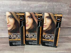 Garnier Hair Color Color Styler Intense Wash-Out Color, Bronze Attitude lot of 3
