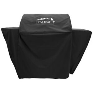 TRAEGER BAC375 BLACK  LARGE PELLETT GRILL BBQ COVER SELECT PRO DELUXE 57W 21D