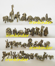 Gold collection - Zoo collectible bronze miniature figures