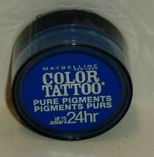 1 Maybelline Eye Studio Color Tatoo Pure Last Pigment Eye Shadow BRASH BLUE #10