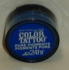 1 Maybelline Eye Studio Color Tatoo Pure Last Pigment Eye Shadow BRASH BLUE #10