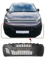 Citroen Dispatch 2016-On Front Bumper Mat Black Without PDC & Fog Lamp Holes New