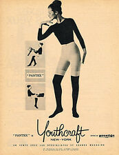 PUBLICITE ADVERTISING 024   1961   YOUTHCRAFT  pantex sous vetements