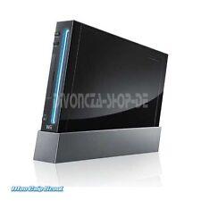 Wii Konsole black ohne Zubehör mit 4x Gamecube Ports / NEU