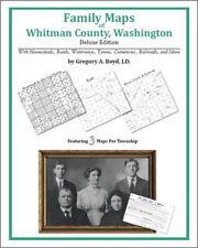 Family Maps Whitman County Washington Genealogy WA Plat