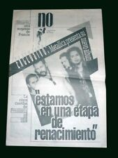 "Metallica - Presenting ""Load"" Album - Newspaper 1996 Argentina"
