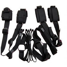 Black-Under-the-Bed-Restraint-System-With-Handcuffs-&-Anklet-Restraint-Fun-Toys