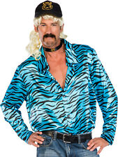 Adults Mens Not Your Average Joe Exotic Costume Kit Fancy Dress Tiger Stripe