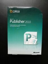 Microsoft Office Publisher 2010 Full UK Retail Boxed 32/64-bit DVD or Download
