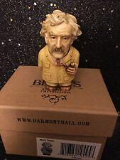 Harmony Kingdom Ball Historical Pot Belly Retired Mark Twain New in Box w/ Card