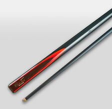 REAL Cuetec Graphite Pool Snooker Billiard Cue Blue & Red flame Quality Cue Tec