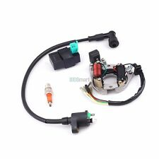 Ignition Rebuild Stator CDI Coil Spark Plug Kit For Chinese GY6 50CC -110CC ATV