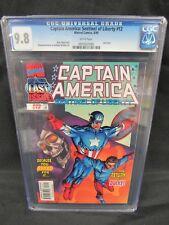 Captain America: Sentinel of Liberty #12 (1999) Last Issue CGC 9.8 C876