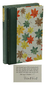 West-Running Brook ~ ROBERT FROST ~ Signed Limited Edition ~ 1/1000 1928 First
