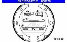 ATE Brake Shoe Set Rear for MERCEDES-BENZ E - CLASS A B CLASSE 03.0137-0170.2