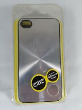 Wow Technologies Protective Case for iPhone 4 & 4s Cover Metallic Silver 4014D